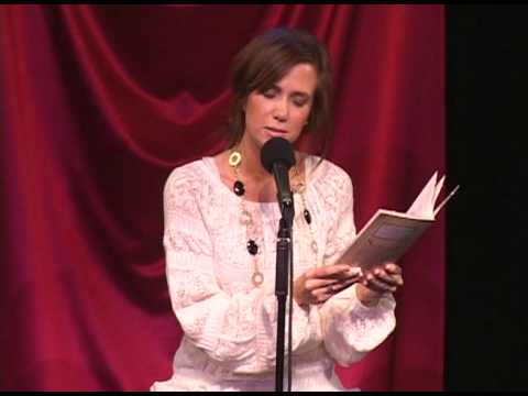 Kristen Wiig Reads the Poems of Suzanne Somers